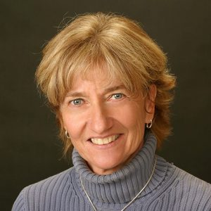 A portrait of Janet Ludwig. Come to Hawthorn for programs in Holistic Nutrition.